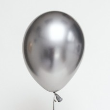 "Beauty&Charm balloons, platinum silver 12"" / 7 pcs."