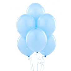 10 Latex Balloons Standard Powder Blue 27.5 cm/11''