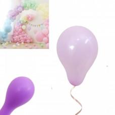 Latex Balloons - Macaron 12cm - 20 pieces- lilac