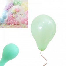 Latex Balloons - Macaron 12cm - 20 pieces- light mint