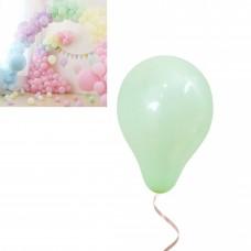 Latex Balloons - Macaron 12cm - 20 pieces- pistachio