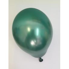 Strong Balloons, Metallic Bottle Green, size 30 cm. 1pc