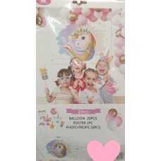 Party Set 31pcs - Unicorn