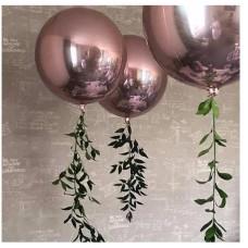 """Orbz """"Rose Gold"""" Foil Balloon, G20, verpackt 38 x 40cm"""