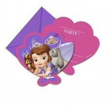 "Invitations with an envelope ""Sofia Pearl Of The Sea"" 6 pcs"