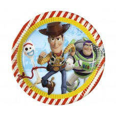 Paper plates Toy Story 4, 23 cm, 8 pcs