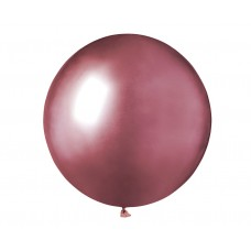 Shiny balloon GB150, 48cm - pink / 1 pcs.