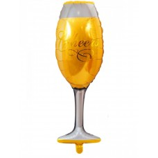 "Foil Balloon ""Champagne glass"" - 80 cm"