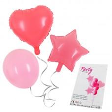 """Balloon bouquet """"Macaron"""" light pink, 10pcs"""