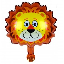 Foil Balloon Lion, 41 см х 456см