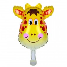 Mini foil Balloon Giraffe, 34 см х 32 см