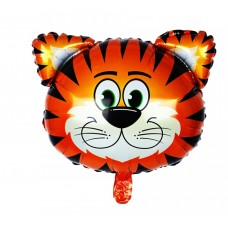 Foil Balloon Tiger, 44 см х 46 см
