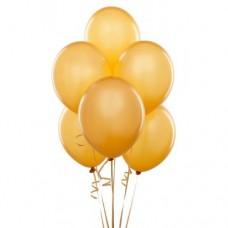 Strong Balloons 27cm, Metallic Gold (1 pkt / 10 pc.)