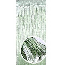 Party curtain, light green, 2m x 1m