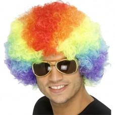 Afro Wig - Rainbow