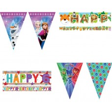Children's banners and buntings