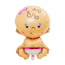 Foil Balloon Baby Girl, 79 см х 49,5 см
