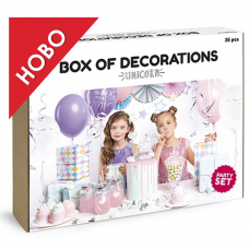 Party decorations set - Unicorn