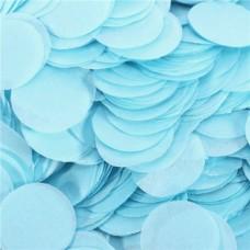 Baby Blue Paper Confetti 100gr