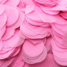 Baby Pink Paper Confetti 100gr