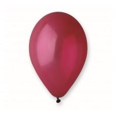 Balloon G90 pastel 26cm, maroon, 1 pc