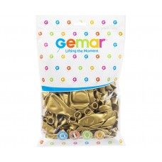 "Balloon GM90 metalic 10"" - ""gold Dorato"" / 100 pcs."