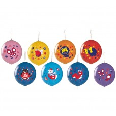 "Balloon GPBD1 pastel - ""Ball with imprint Lux"" - mix / 25 pcs"