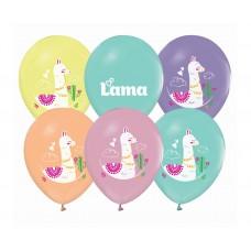 """Balloon Llamas, 12"""" / 5 pcs."""