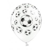 Balloons 30cm, Footballs, Pastel Pure White (1 pc.)