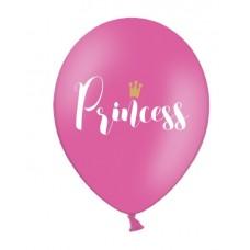 Balloons 30cm, Princess, Pastel Hot Pink 6pc