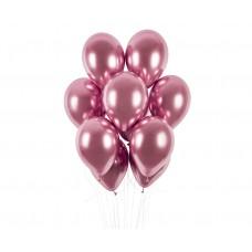 Balloons Shiny 30cm- pink, 7pcs