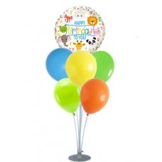 Balloons stand Set - Jungle 7 balloons