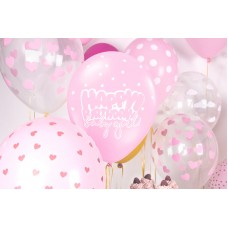 Balloons with print