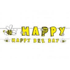 Banner Bee, 16.1 x 153cm