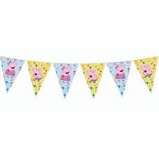 Banner Peppa Pig, 9 flags, 230 cm
