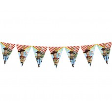 Banner Toy story 4, 9 flags, 230 cm