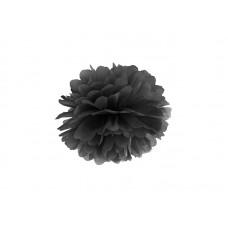 Blotting paper Pompom, black, 25cm
