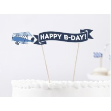 Cake Topper Little Plane, height approx. 18 cm