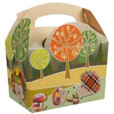 Woodland Party Boxes- 15cm long (each)