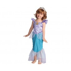 Costume for children Mermaid (dress, headpiece), size 92/104 cm