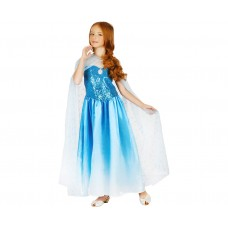 Costume for children blue beauty (dress), size 120/130