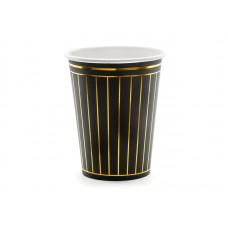 Cups Strips, black, 260ml (1 pkt / 6 pc.)