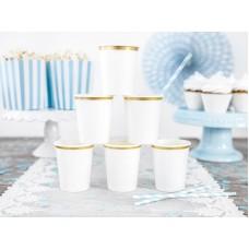 Cups, white, 260 ml (1 pkt / 6 pc.)