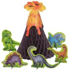 Dinosaur Adventure Table Centrepiece Decoration 6pcs