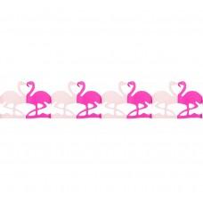 """""""Flamingo"""" garland, size 20x17x300 cm"""
