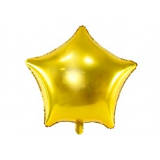 Foil Balloon Star, 48cm, gold