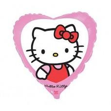 "Foil balloon 18"" FX - ""Hello Kitty in the window"""