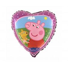 "Foil balloon 18"" SHP GRABO - Peppa Pig"
