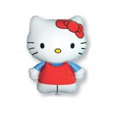 "Foil balloon 24"" FX - Hello Kitty (red bow)"