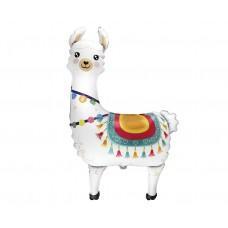 "Foil balloon 24"" FX Llama, packed"